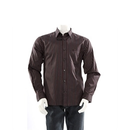 Melka dobby stripe shirt - Black Reviews