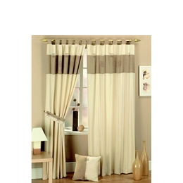 Kato Curtains Suede Panel Natural 163cmx274cm Reviews