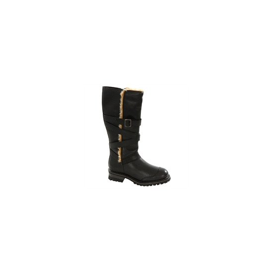 Caterpillar Black Wool Lined Boot