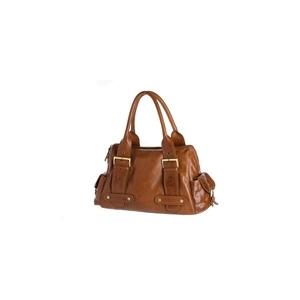 Photo of Oriano Brown Leather Oversized Bag Handbag