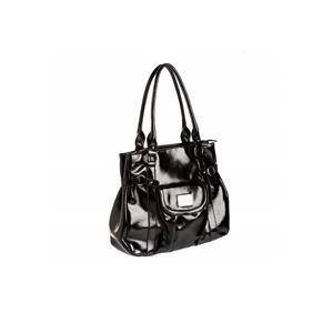 Photo of Gionni Black Leather Large Shopper Handbag