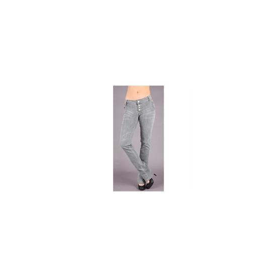 Rocawear Grey Studded Skinny Jeans (34inch leg)