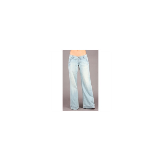 Rocawear Stone Washed Flared Jeans (32 inch leg)