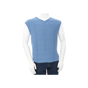 Photo of Farah Golf Singlet Blue Tops Man