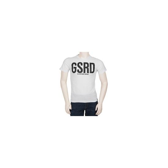 G Star Logo T Shirt - White