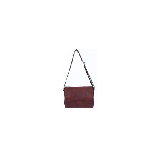 Ashwood Leather Messenger Bag Tan