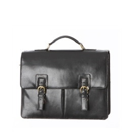 Ashwood Leather Briefcase Black Reviews