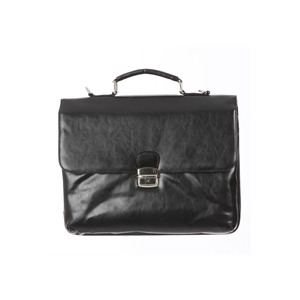 Photo of Ashwood Leather Briefcase - Black Handbag