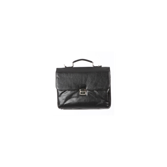Ashwood Leather Briefcase - Black