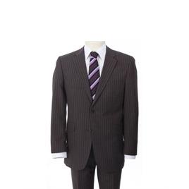 City Survival Brown Stripe Suit Reviews
