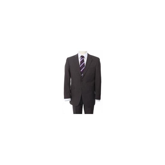 City Survival Brown Stripe Suit