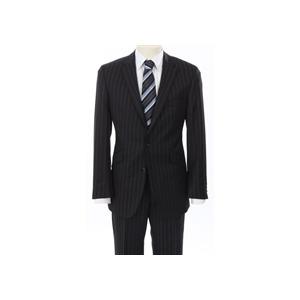 Photo of Gibson Black City Stripe Suit Jackets Man