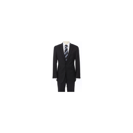 Gibson Black City Stripe Suit