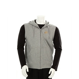 Nike Hooded Sleeveless Zip Through Grey Reviews