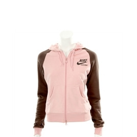 Nike Pink And Chocolate Hooded Zip Sweatshirt Reviews