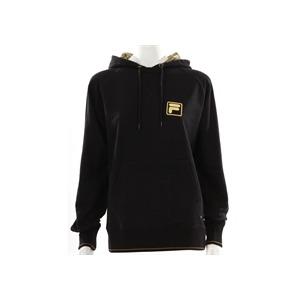 Photo of Fila Black Oversized Hooded Sweatshirt Sports and Health Equipment