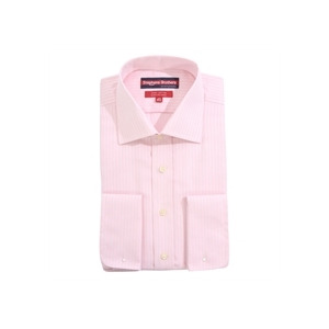 Photo of Stephens Brothers Shirt Pink Double Cuff Shirt