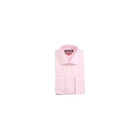 Stephens Brothers Shirt Pink Double Cuff
