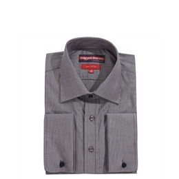 Stephens Brothers Shirt Dark Grey Double Cuff Reviews