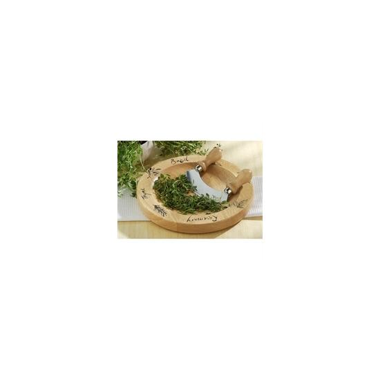 Natural Origins Herb Cutting Board & Chopper