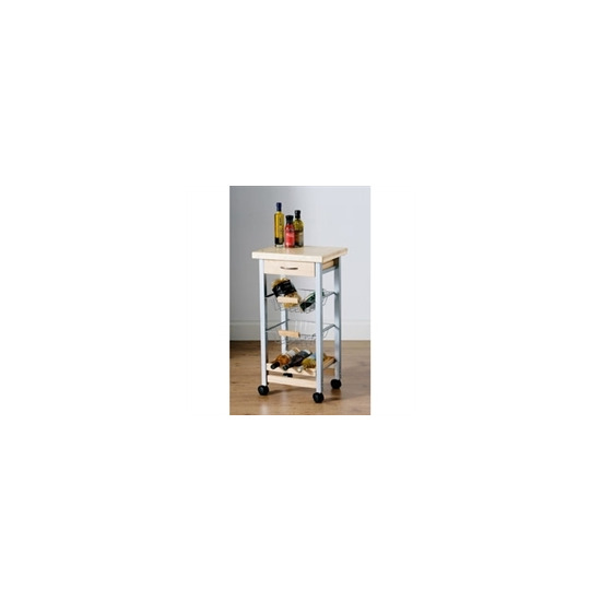 4 Tier Kitchen Trolley