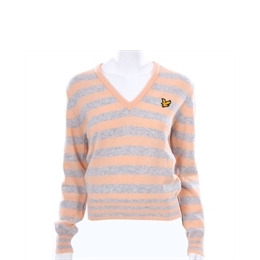 Lyle & Scott Golf Peach Lambswool Knitted V-neck Reviews