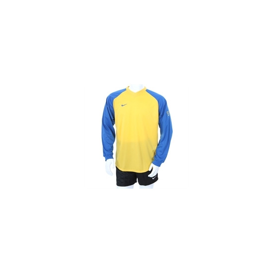 Nike Long Sleeve Football Top Blue & Yellow