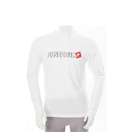 Nike Just Do It Long Sleeve T Shirt White Reviews