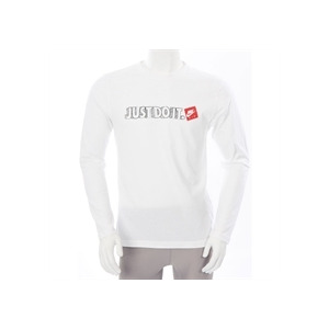 Photo of Nike Just Do It Long Sleeve T Shirt White T Shirts Man