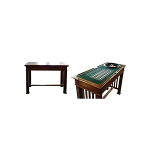 Photo of 4 In 1 Games Table Mahogany Colour Furniture