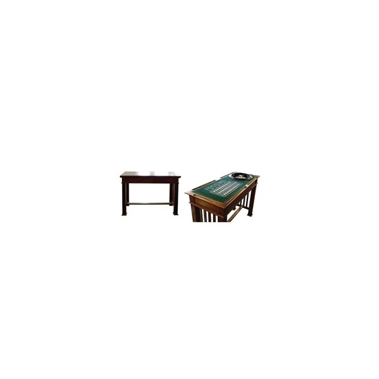 4 in 1 Games Table Mahogany Colour