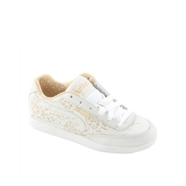 Duffs Gambler II Etched Trainers White & Cream Reviews
