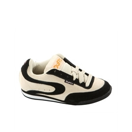 Duffs Octane Trainers Cream & Black Reviews
