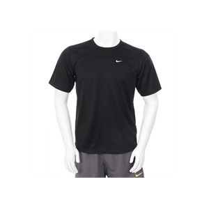 Photo of Nike Dri Fit Swoosh T Shirt Black Sports and Health Equipment