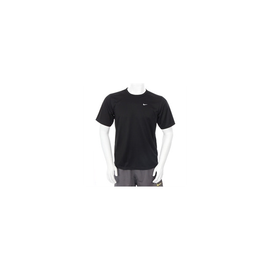 Nike Dri Fit Swoosh T Shirt Black