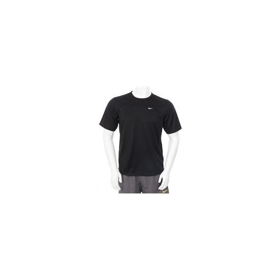 Nike Dri Fit Swoosh T Shirt Black