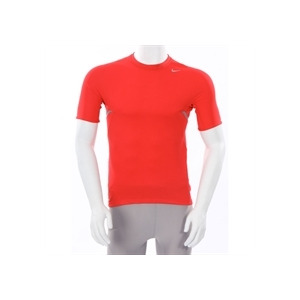Photo of Nike Dri Fit Short Sleeve T Shirt Red Tops Man