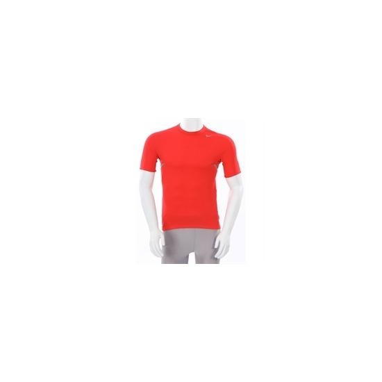 Nike Dri Fit Short Sleeve T Shirt Red