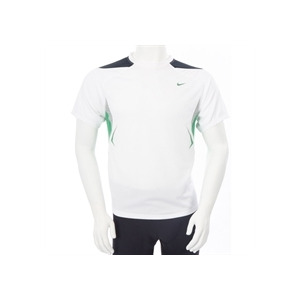 Photo of Nike Dri Fit Short Sleeve T Shirt White Sports and Health Equipment
