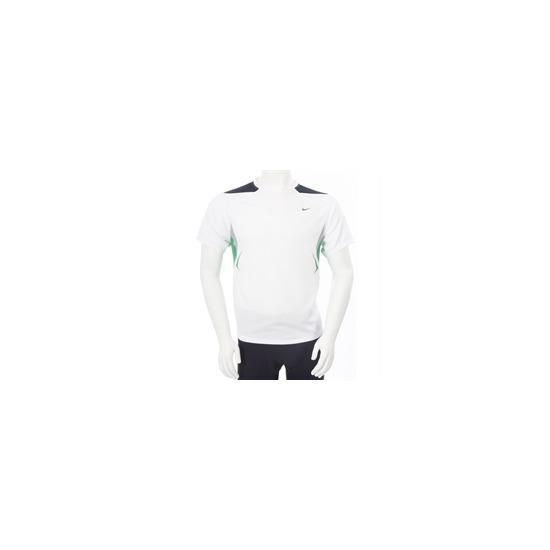 Nike Dri Fit Short Sleeve T Shirt White