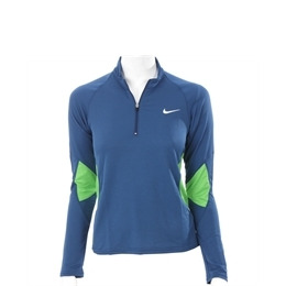Nike Blue Run Long Sleeve Training Top Blue Reviews