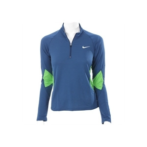 Photo of Nike Blue Run Long Sleeve Training Top Blue Tops Woman