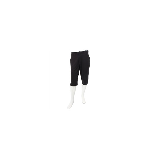 Nike dri fit cropped trouser black