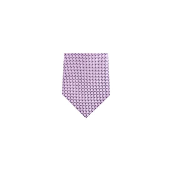 Stephens Brothers Grid Tie Pink Blue