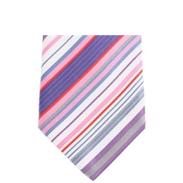 Stephens Brothers Multistripe Tie Pink Reviews