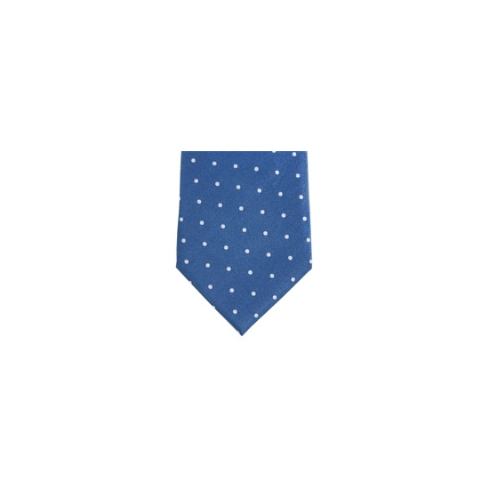 Stephens Brothers Dot Tie Blue