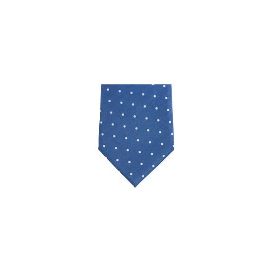 Stephens Brothers Dot Tie Blue