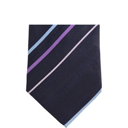 Stephens Brothers Multi Stripe Tie Navy Reviews