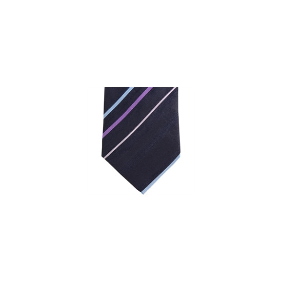 Stephens Brothers Multi Stripe Tie Navy