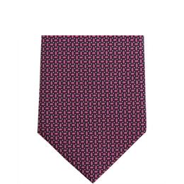 Stephens Brothers Geometric Tie Navy Fuschia Reviews
